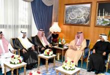 Photo of وزير الحرس الوطني يستقبل مدير الجامعة