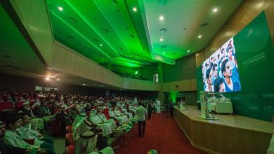 Photo of قُدم خلاله 200 بحث علمي من 17 جامعة كلية الطب تُنظم الملتقى البحثي الطبي الحادي عشر