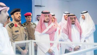Photo of نائب أمير منطقة القصيم يزور إدارة التحريات والبحث الجنائي بالمنطقة