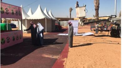 Photo of رئيس بلدية الاسياح يطلع على التجهيزات الأساسية بمقر فعاليات ملتقى الشباب