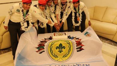 Photo of كشافة تعليم وادي الدواسر تحتفي بيوم الأخوة الكشفية العربية