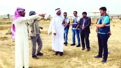 Photo of طلاب جامعة الملك خالد يشاركون في التنقيب عن الآثار في جرش التاريخية