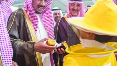 Photo of نيابة عن الأمير فيصل بن مشعل  «الوزان» يرعى اليوم الذهبي لملتقى النحالين بمشاركة 70 نحالاً