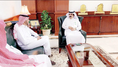 Photo of محافظ الرس يستقبل وفد أعضاء مجلس إدارة جمعية إكرام النعم