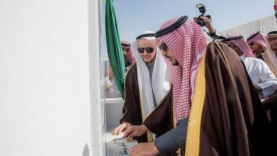 Photo of أمير منطقة القصيم يضع حجر الأساس للمرحلة الأولى لمشروع واحة بريدة الخضراء