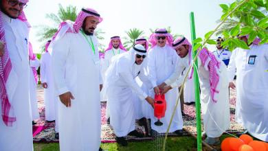 Photo of إدارة الصيانة والخدمات تُدشن المرحلة الخامسة من مبادرة «أرض القصيم خضراء»