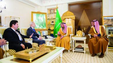Photo of أمير القصيم وبحضور نائبه يلتقي سفير فنلندا
